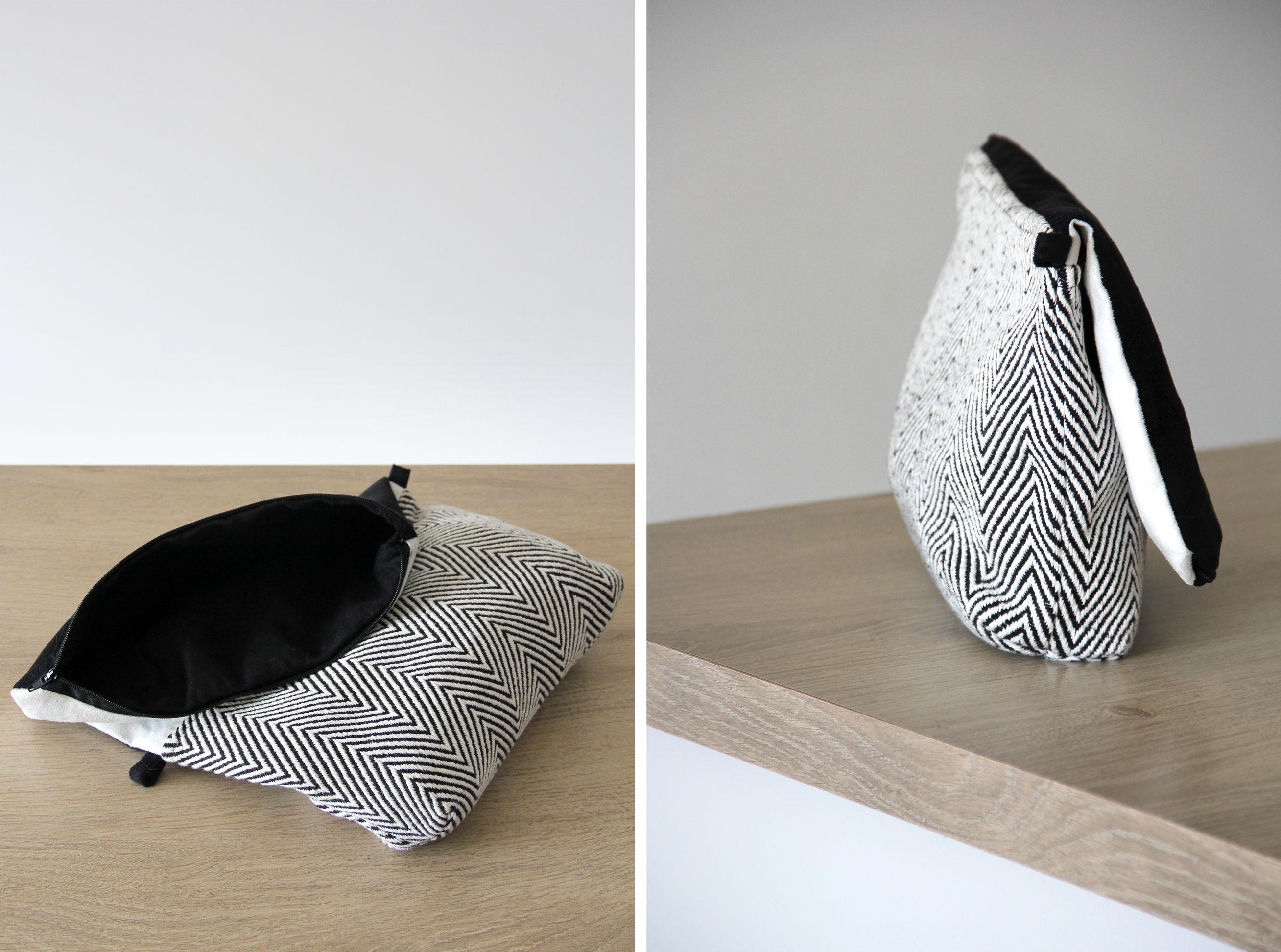 sac réversible couture