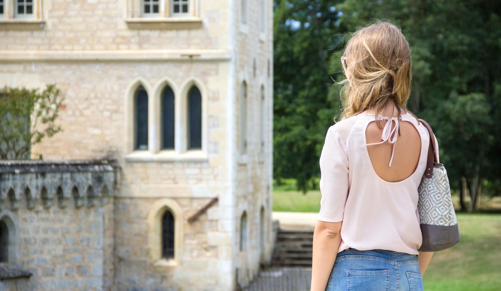 la blouse romantique atelier charlotte auzou